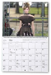 Daniel Reynold print for Chanel Haute Couture Spring-Summer 2003. Original photo: Christopher Moore Ltd