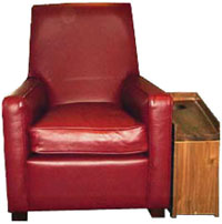 Snag a leather chair at Electric Cinema