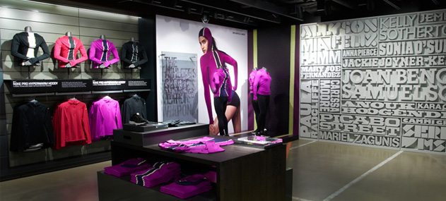 Image result for nike town womenswear oxford street