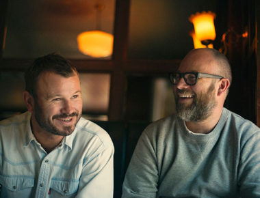 Jon Rotherham and Tom Harris