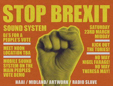 Stop Brexit – DJs for a People's Vote