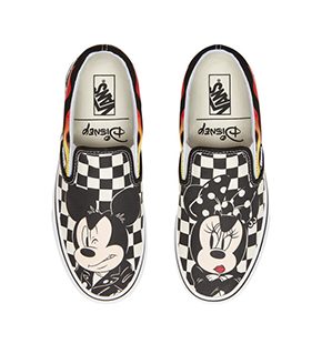Disney x Vans Classic Slip On Shoes