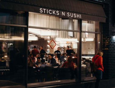 Sticks'n'Sushi, Beak Street